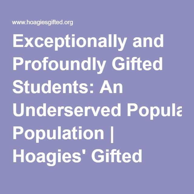 exceptionally able gifted children How do you get an iep plan for an exceptionally smart child individualized education plan  for gifted children---but how  for exceptional children .