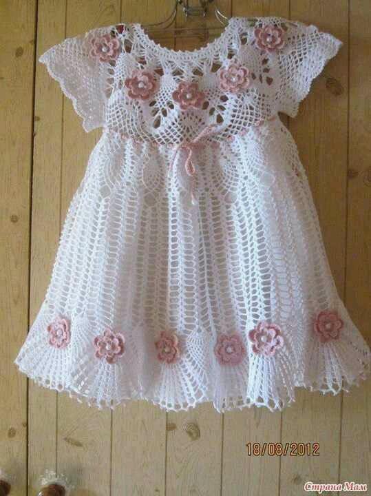 girl crochet dress ♥