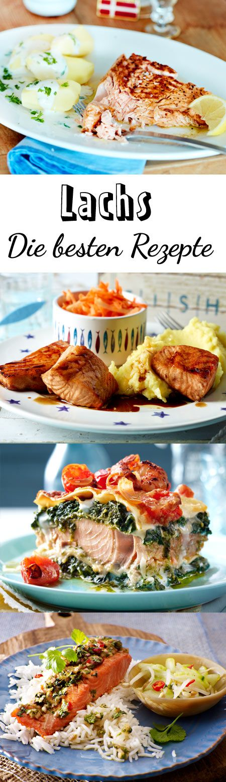 Lieblingsfisch Lachs: Ob frisch oder geräuchert, gebraten oder überbacken – Lachs-Rezepte sind Gerichte für jeden Tag, jeden Anlass und jeden Geschmack.