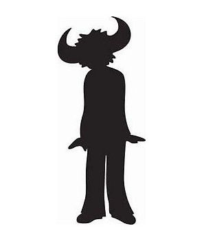 """First appearing on Jamiroquai's 1993 debut album 'Emergency On Planet Earth', Jay Kay's self-designed """"Buffalo Man"""" logo - a stylized silhouette of himself wearing one of his trademark hats - has appeared in various forms on all of Jamiroquai's albums."""