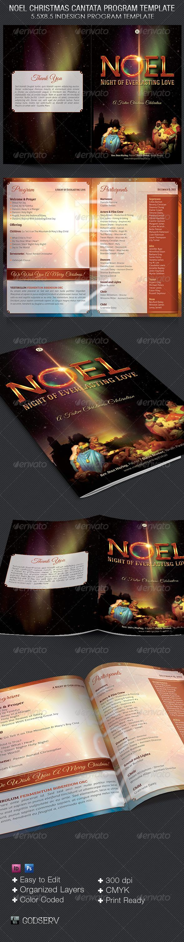 Christmas Program Templates Best Images About Christmas Print