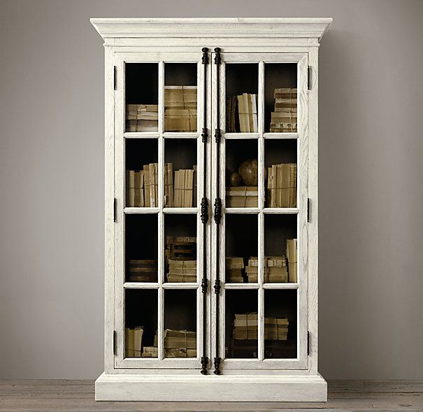 French Casement Cabinets Restoration Hardware  furnish