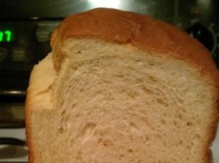 Country White Bread for 2 lb.  Machine Subbed gluten free all purpose flour and honey for sugar