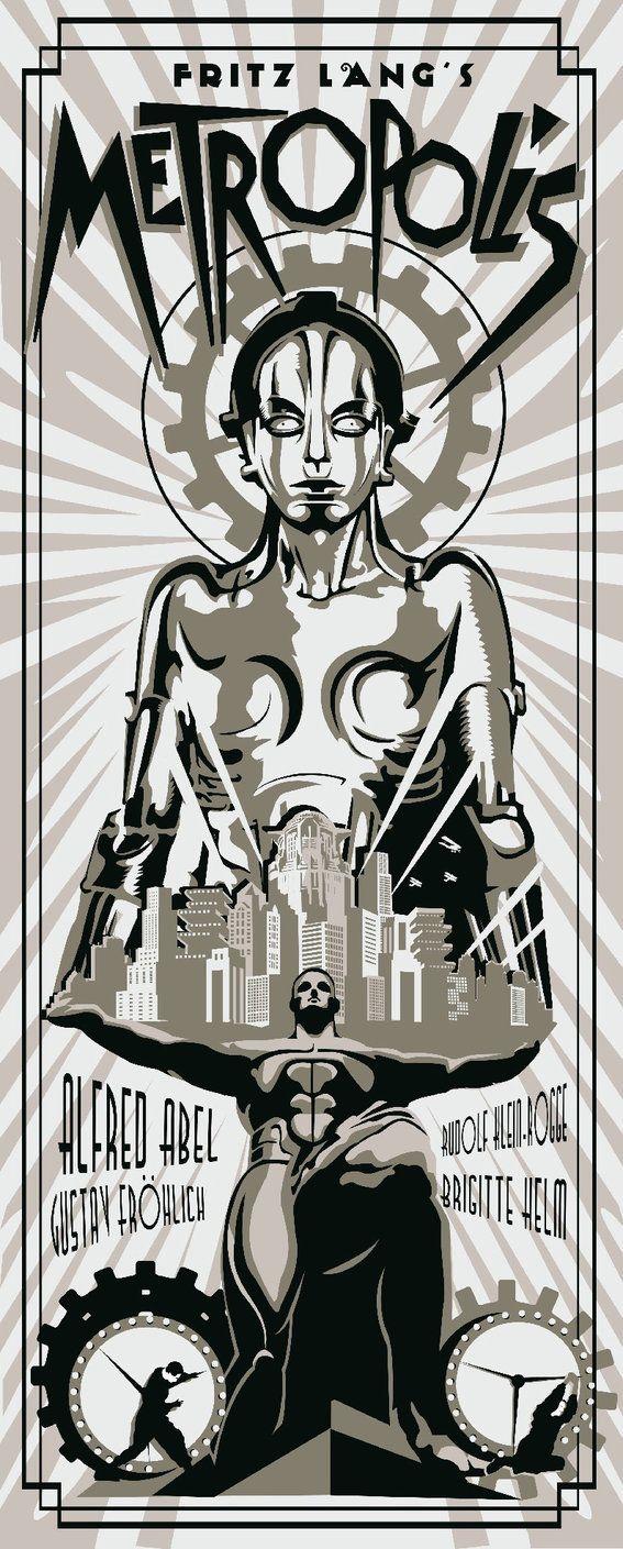 Metropolis - movie poster - rodolforever.deviantart.com