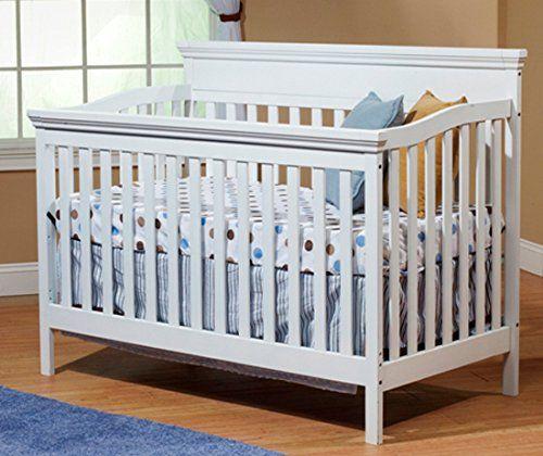 sorelle katherine crib with mini rail white sorelle - Sorelle Cribs