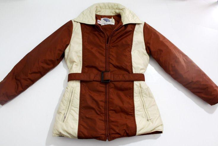 Vintage 1970'S Puffy SKI Jacket Comfy Womens Size 10 Nice   eBay