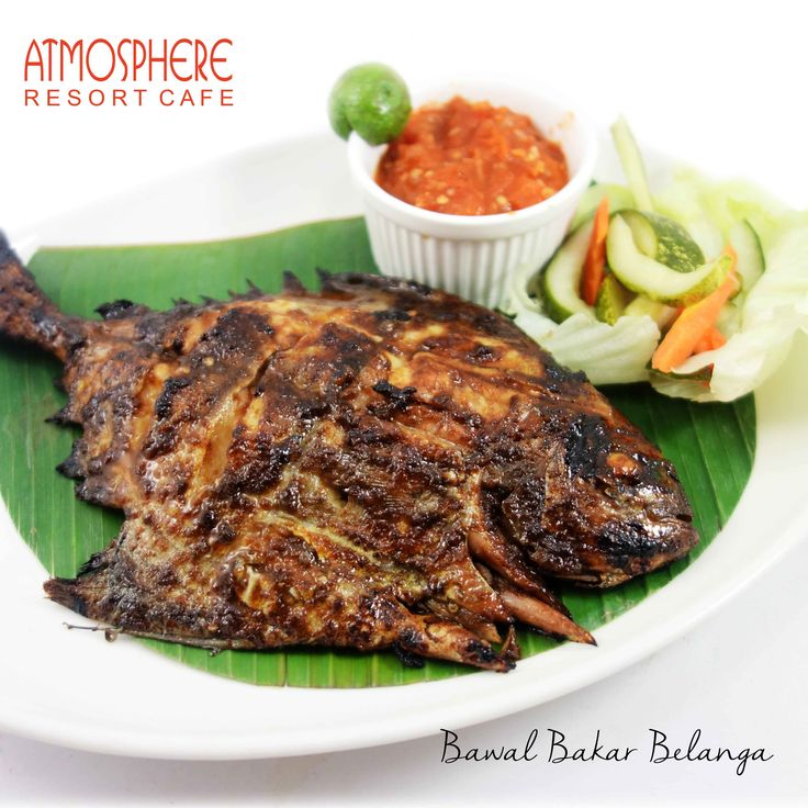 """Served with rice & Spicy """"Belanga"""" Sauce"""