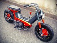 I think custom mini bike like Honda Cub is badass. Found this Honda Chaly by Wedge Paint Factory . Loves the paint scheme. ...