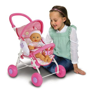 Fisher Price Little Mommy Baby So New Doll Amp Stroller