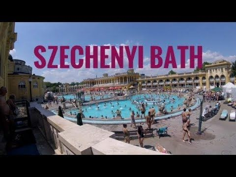 Check out our time at the Szechenyi Bath in Budapest, Hungary with our Go Pro!