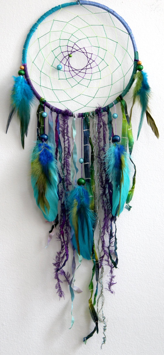 My dream bedroom would be filled with dream catchers, i don't know why but i just think they're so pretty :)