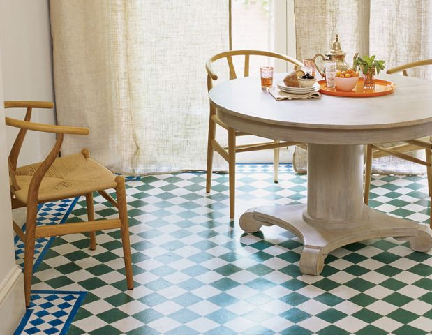 Neutral furniture with bright floors