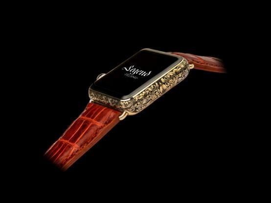 Legend 24k gold apple watch & 24k gold iphone 6 article by YOKA