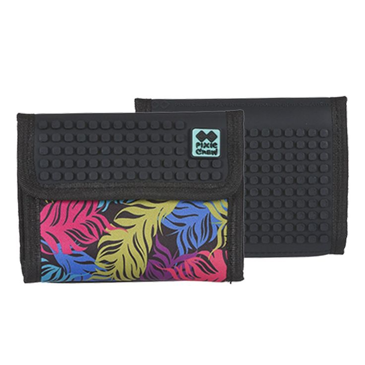 PIXIE CREW Wallet COLORED FEATHERS