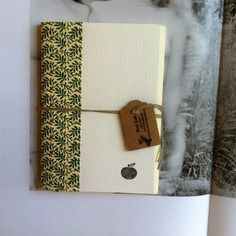 Pocket notebook *mela_tonina* fatto a mano
