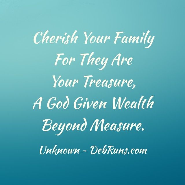 Cherish Quote - DebRuns.com
