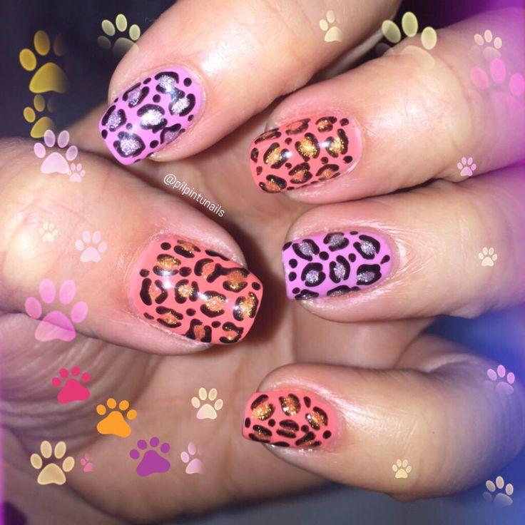 Grrrr #nails #nailart #lacquerpro