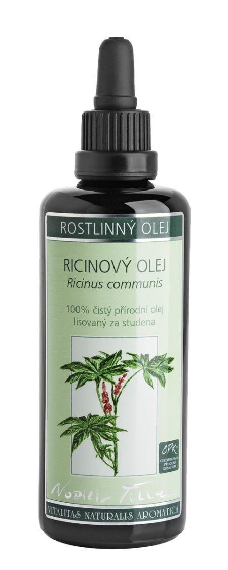 Ricínový olej na obočie a riasy, Nobilis Tilia, 6,63 € | Casprezeny.sk