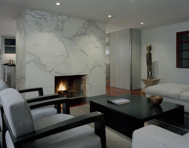 Design tip: Should you desire a touch more flair, the mill can book match your stone — that is, put all the veins of the marble to form a design.