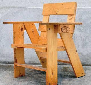 COME FACCIO A FARE UNA SEDIA CON PALLET, riciclo bancali pallet per sedia giardino fai da te