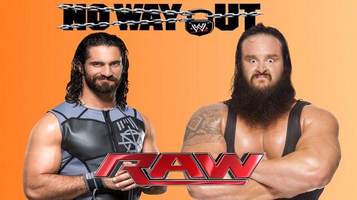 WWE RAW Seth Rollins vs Braun Strowman Full Match WWE RAW 9 -2017