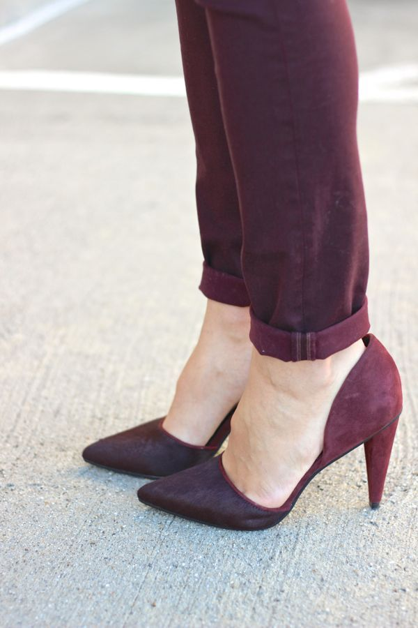 Add rich, sweet plum tones to your closet this spring!   purple inspiration