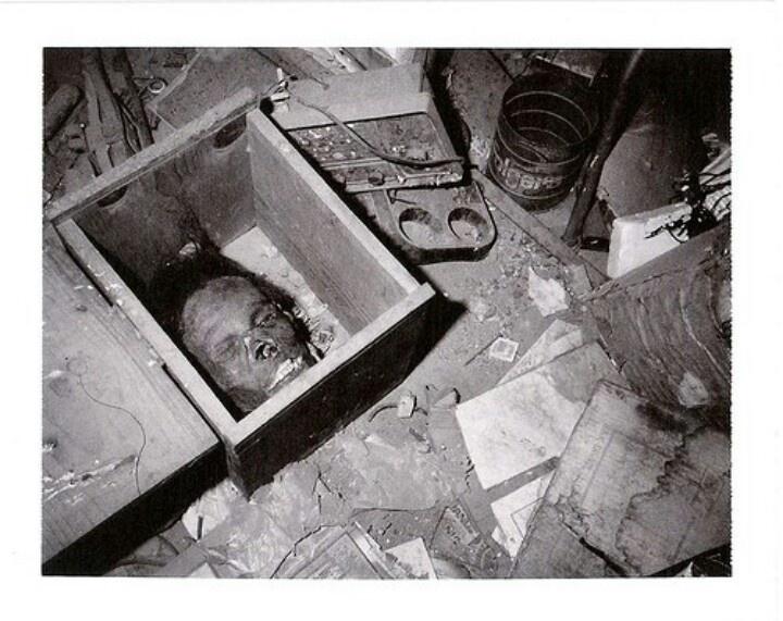 Ed Gein Skin Furniture Gein house, skin masks,