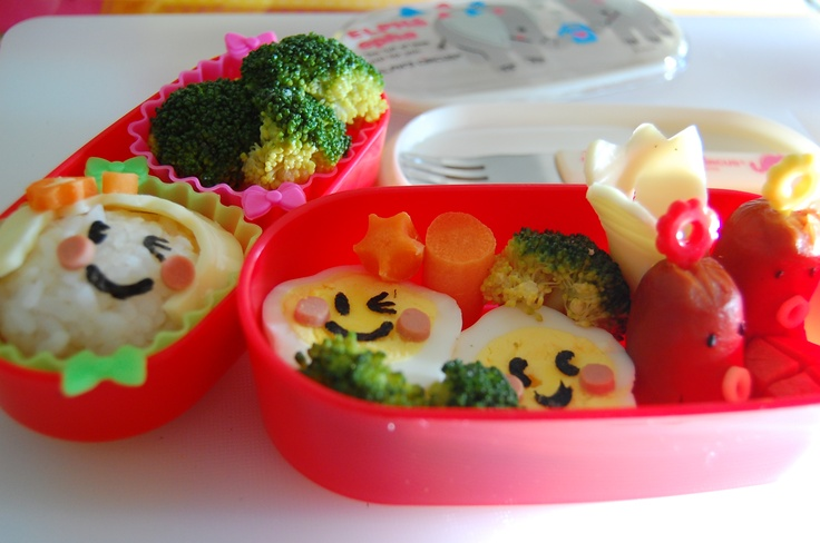 thelittlebow | Japanese 2 Level Bento Lunch Box ~ Elph's Circus (ELPH) | Online Store Powered by Storenvy