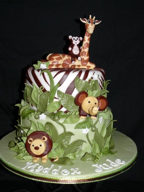 ADORABLE!! Zoo cake