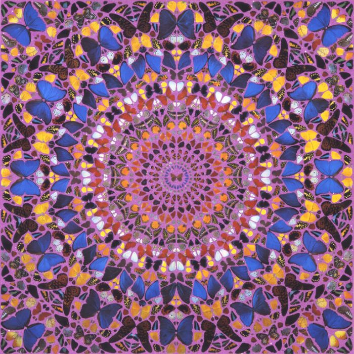 Kaleidoscope Butterflies, Damien Hirst