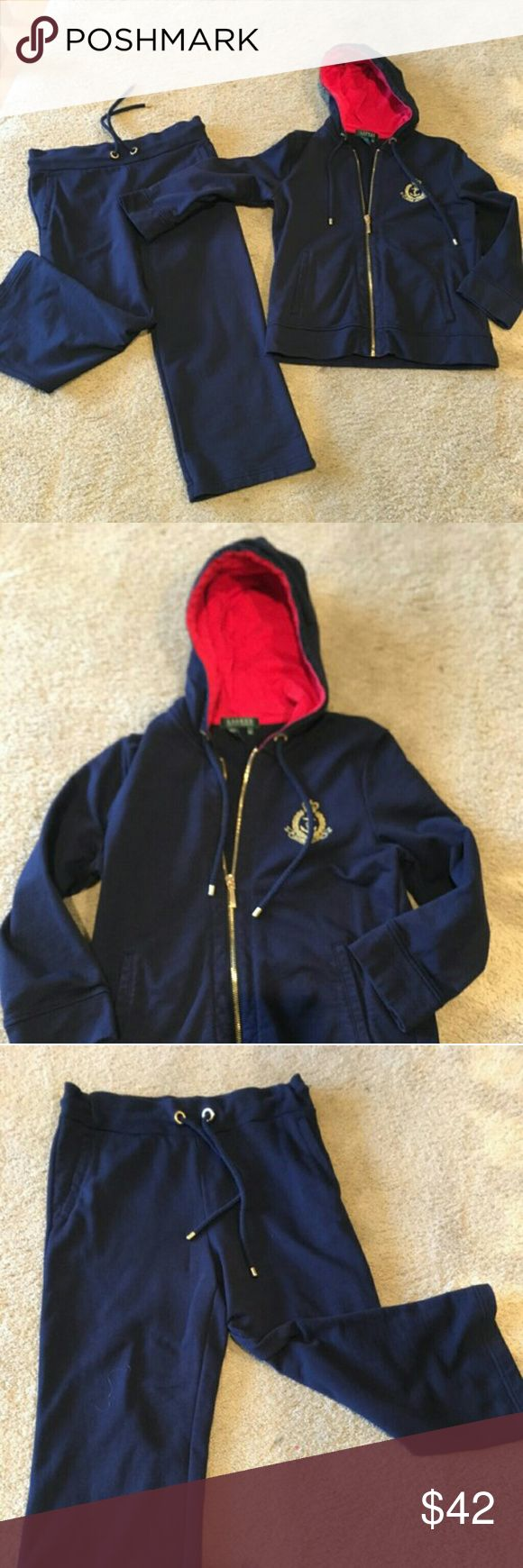 Ralph Lauren Ralph Lauren authentic two-piece jacket and capri set excellent condition comes from a smoke-free home Nautical Style perfect for that upcoming Cruise Ralph Lauren Jackets & Coats Jean Jackets