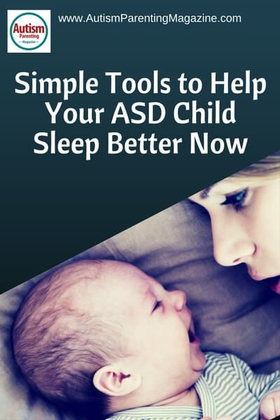 Simple Tools to Help Your ASD Child Sleep Better Now