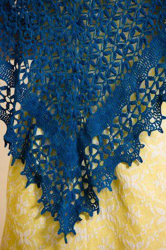 Midsummer Night's Shawl - free pattern