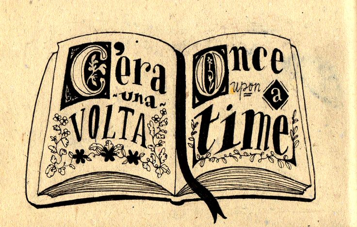 "How to say ""Once upon a time"" in Italian."