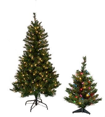 7 Best Images About Tabletop Artificial Christmas Trees On
