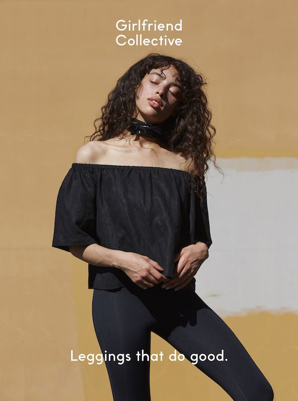 Girlfriend Collective does things differently. We have a feeling you'll love our high-waisted, sustainably made leggings, so we're testing out that theory by giving them to you for just the cost of shipping. Come visit our website to get yours.
