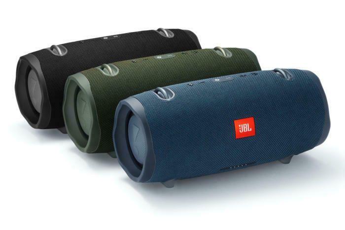JBL Xtreme 2 Portable Bluetooth Waterproof Speaker- Black