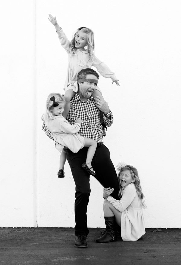 Daddies are FUN!  Make sure and get a silly picture of your kids with their dad.  Treasure.