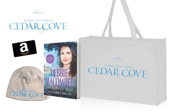 Hallmark Channel's Cedar Cove Prize Pack: $25 Amazon GC & Swag {RV $55} | Ends 8.9.13