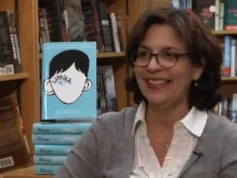 Authors Revealed:  J.R. Palacio - Becky Anderson Sits Down with R.J. Palacio (video)