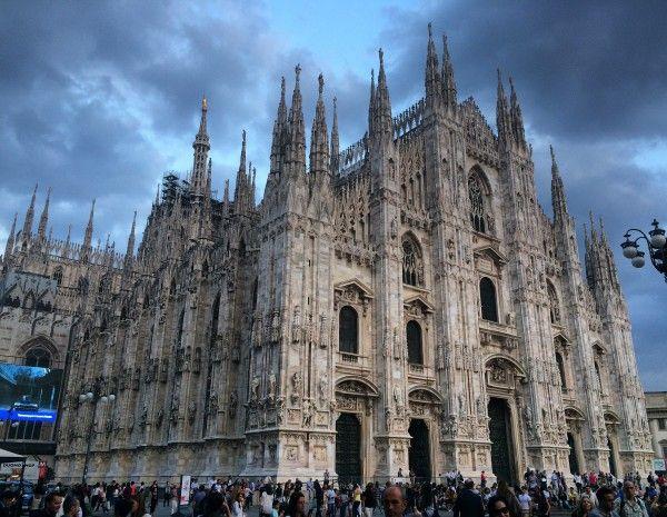 Der Mailänder Dom: Über den Dächern von Mailand. Foto © Welz