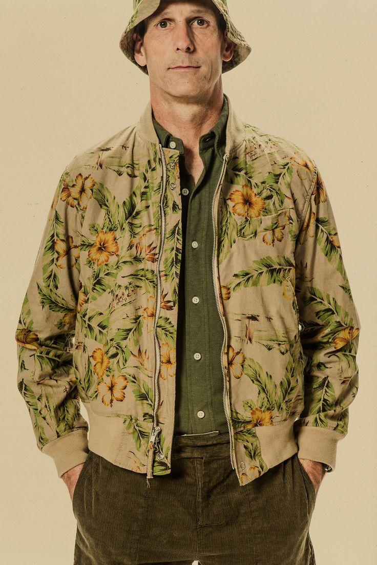 Engineered Garments Spring 2015 Menswear.