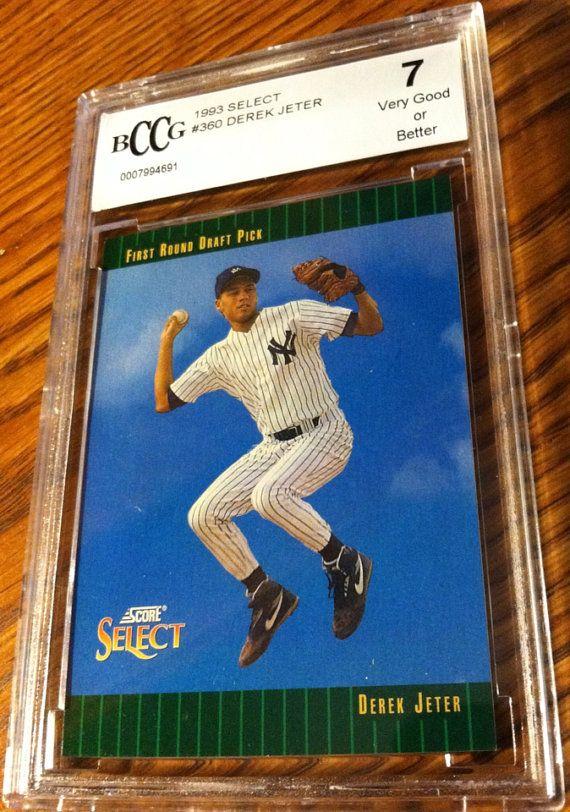 1993 Derek Jeter Rookie Card