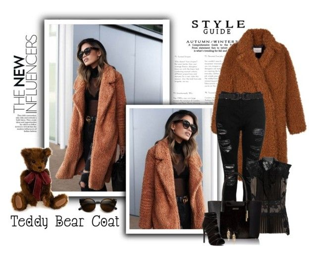 """""""Snuggle Up: Teddy Bear Coats"""" by signaturenails-dstanley ❤ liked on Polyvore featuring Dorothy Perkins, Alberta Ferretti, B-Low the Belt, Calvin Klein, Humble Chic and teddybearcoat"""