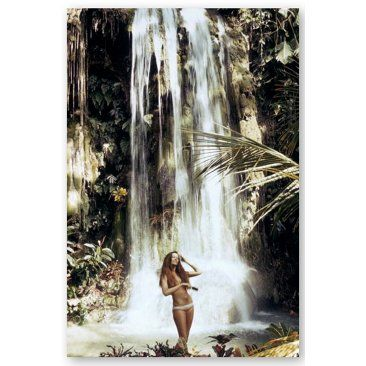Slim Aarons, Exotic Hair Care, 1971