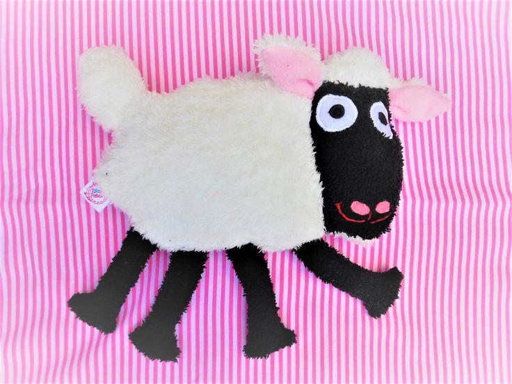 Lambie created in very fluffy polar fleece.