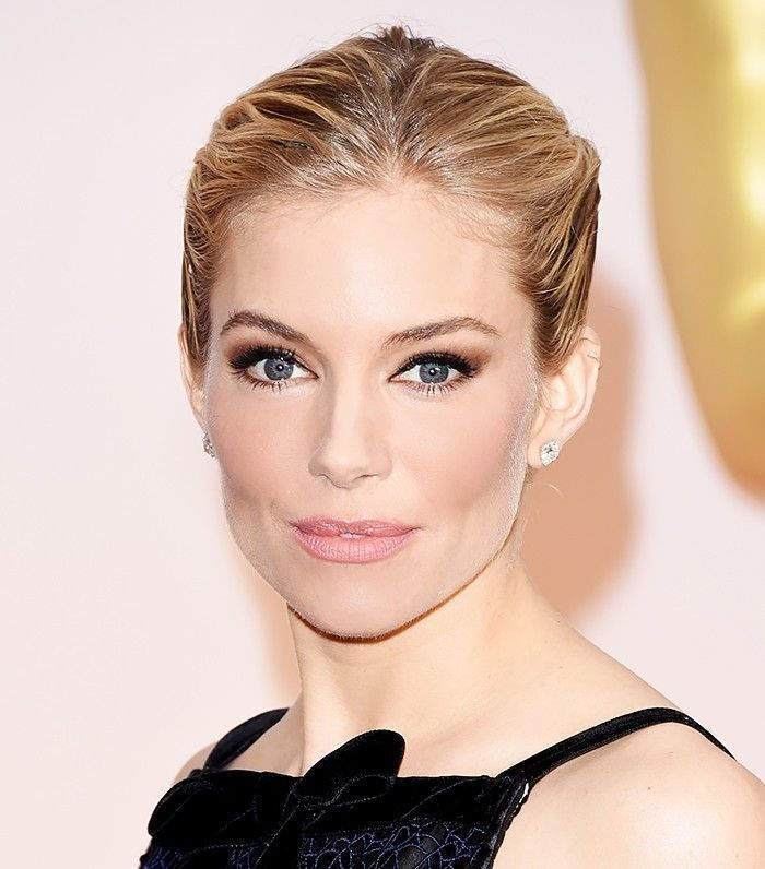 Sienna Miller and the Elegant Updo: A Visual Case Study