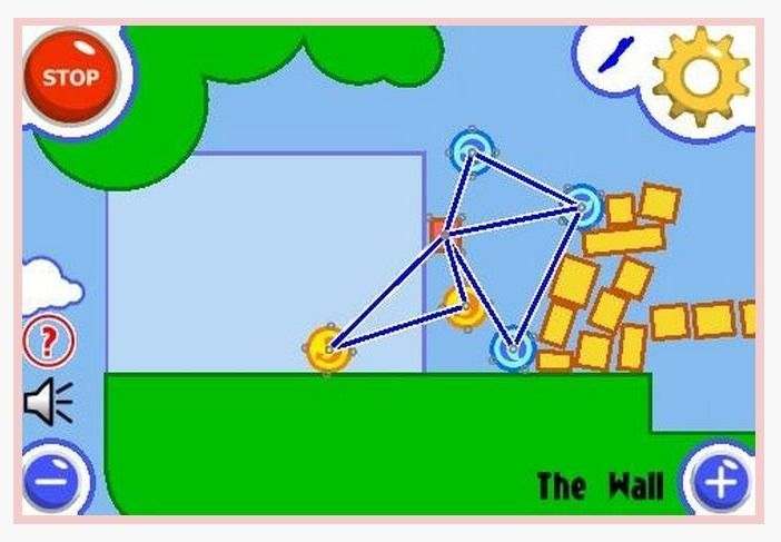 Fantastic Contraption: A fun online physics puzzle game