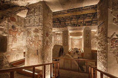 Hrobka Ramesse VI. se sice musí platit samostatně, její návštěvy však jistě nebudete litovat.