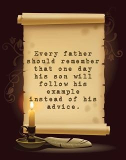 Father's Example: Life Quotes, Vintage Paper, Project Blessing, Stuff, Blessing Spell, Forest, Inspirational Life